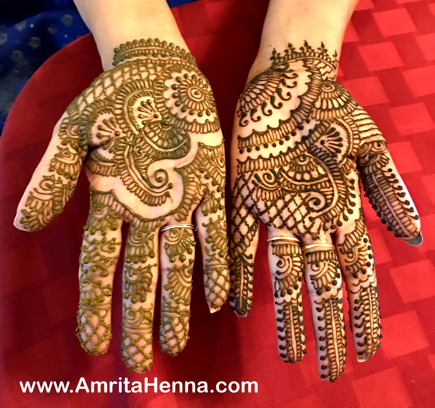 Mehndi Designs For Engagement : Top henna designs for your engagement ceremony