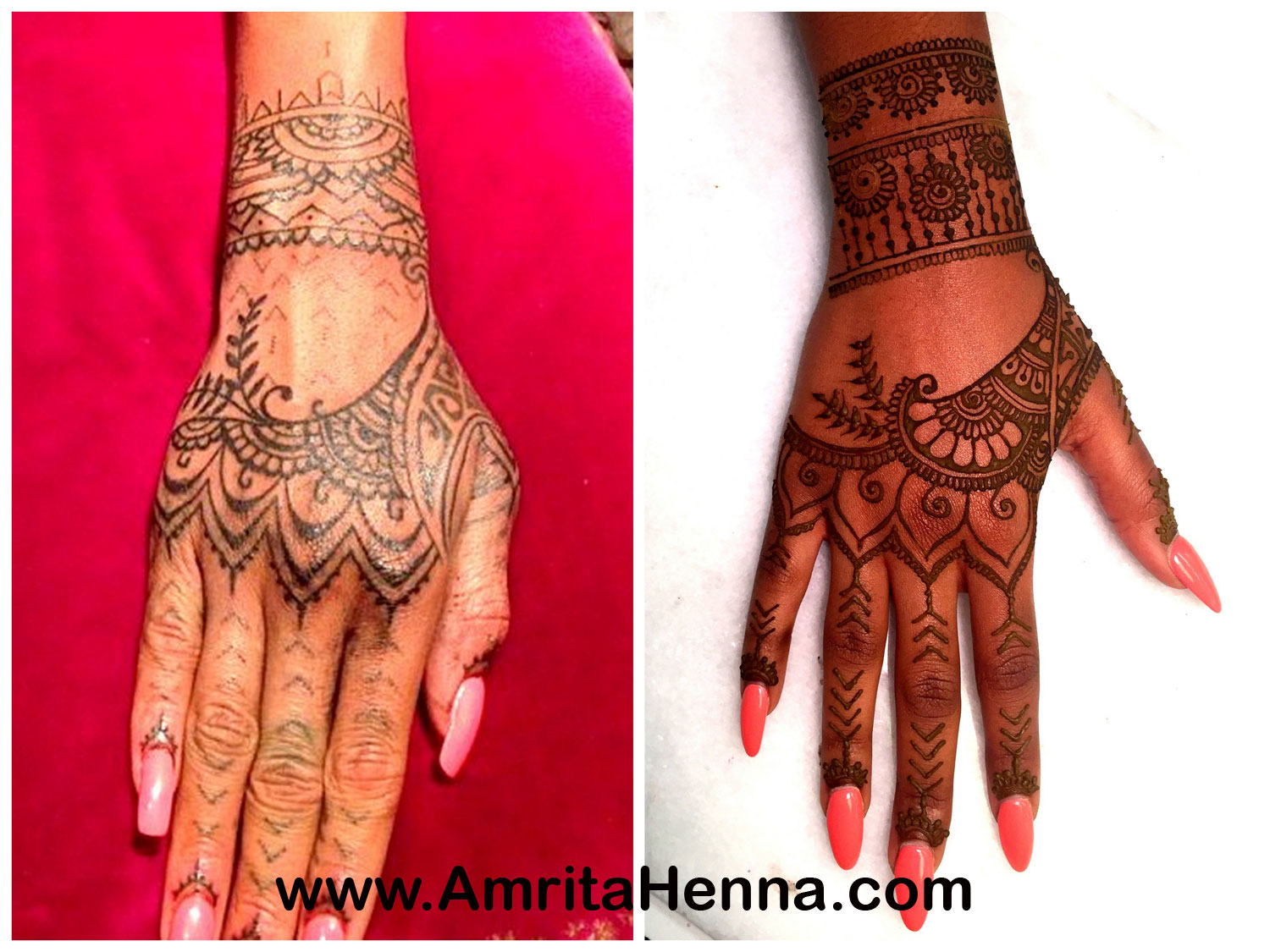 Real tattoos that look like henna