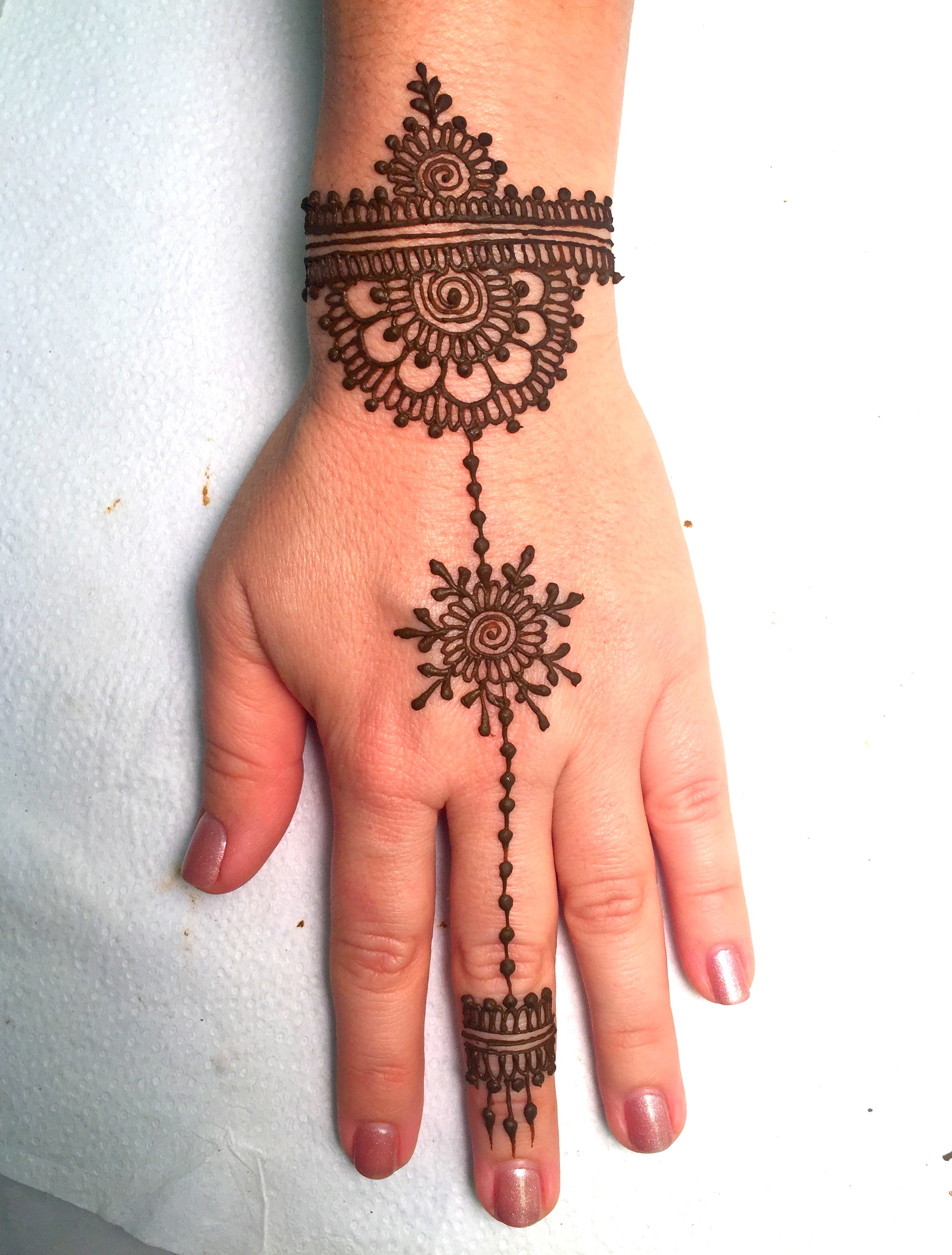 Best Jewelry Style Henna Design For Beginners Henna Tattoo Mehndi Art By Amrita