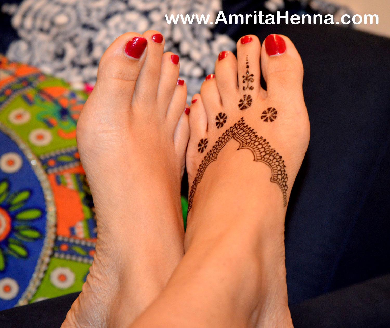 Best Jagua Design For Feet Most Popular Feet Jagua Design Best