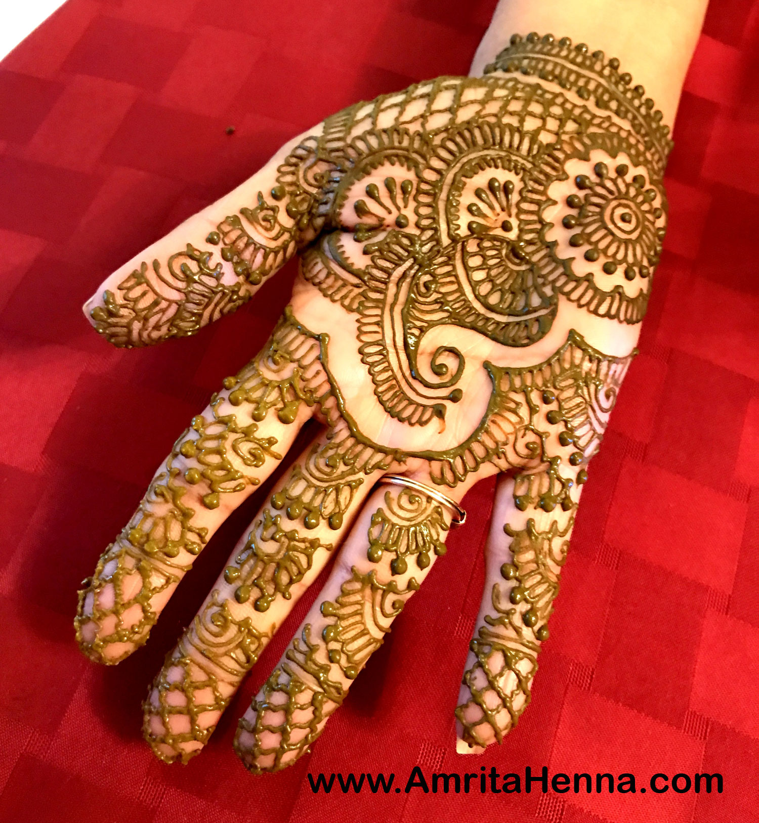 Top 10 Full Hand Henna Designs