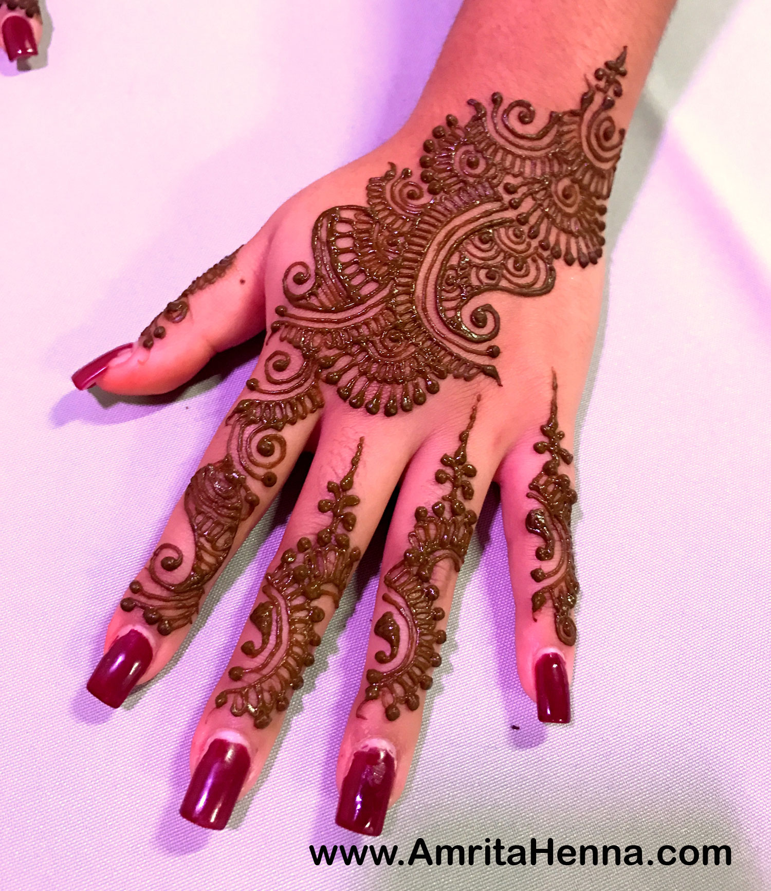 how to make mehndi design