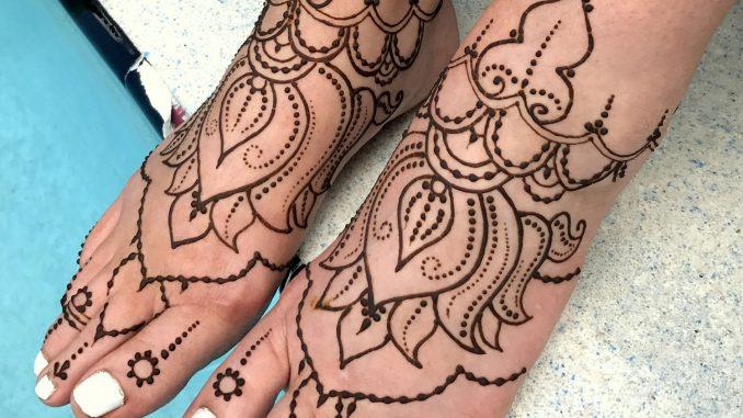 Top 5 must try lotus flower henna designs henna tattoo mehndi art mehndi mightylinksfo