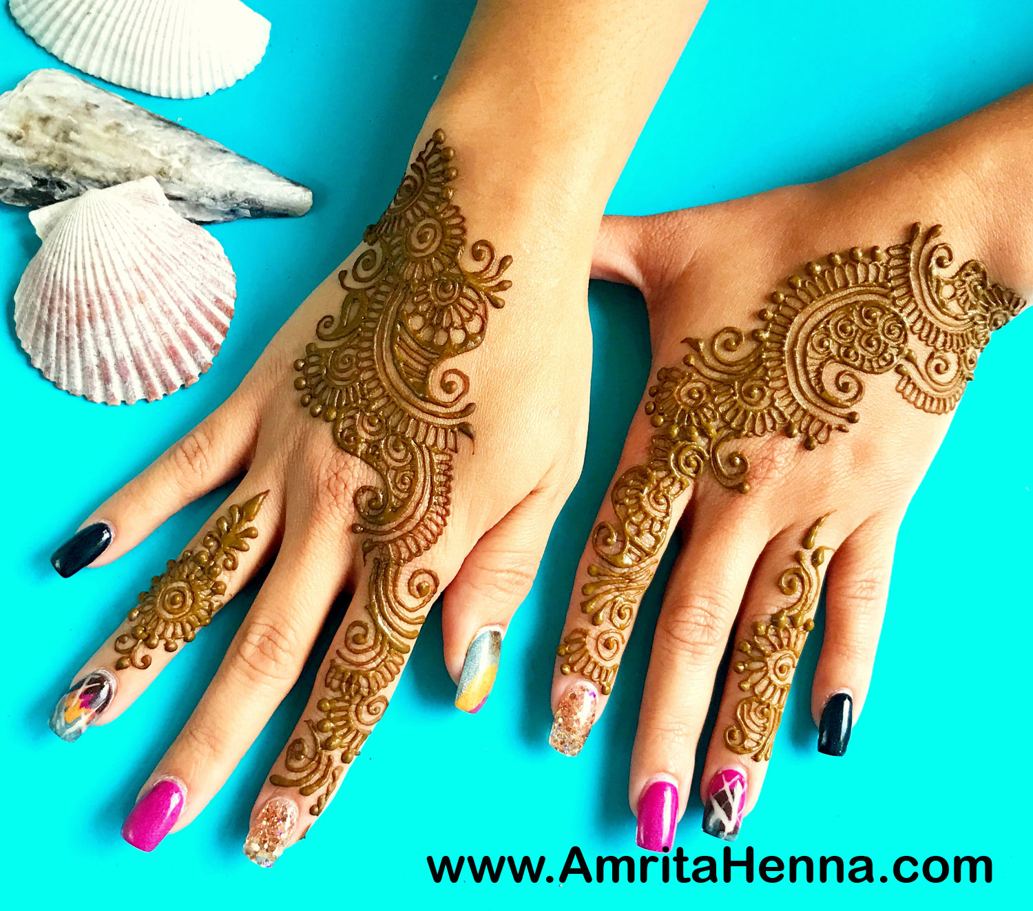 Top 10 Best Bridesmaids Henna Designs Henna Tattoo Mehndi Art By