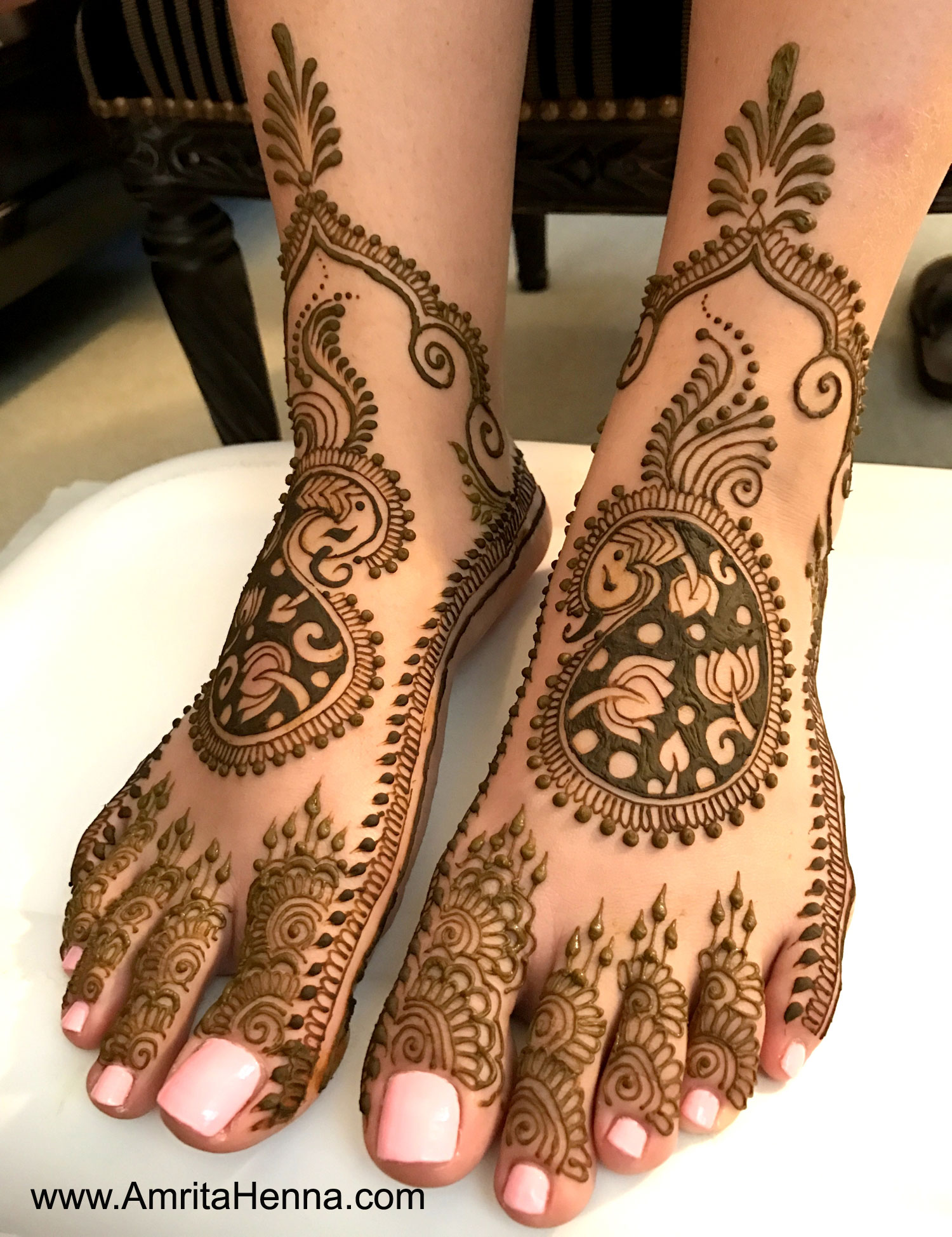 Bridal Mehndi Feet Design : Top latest bridal feet henna designs tattoo