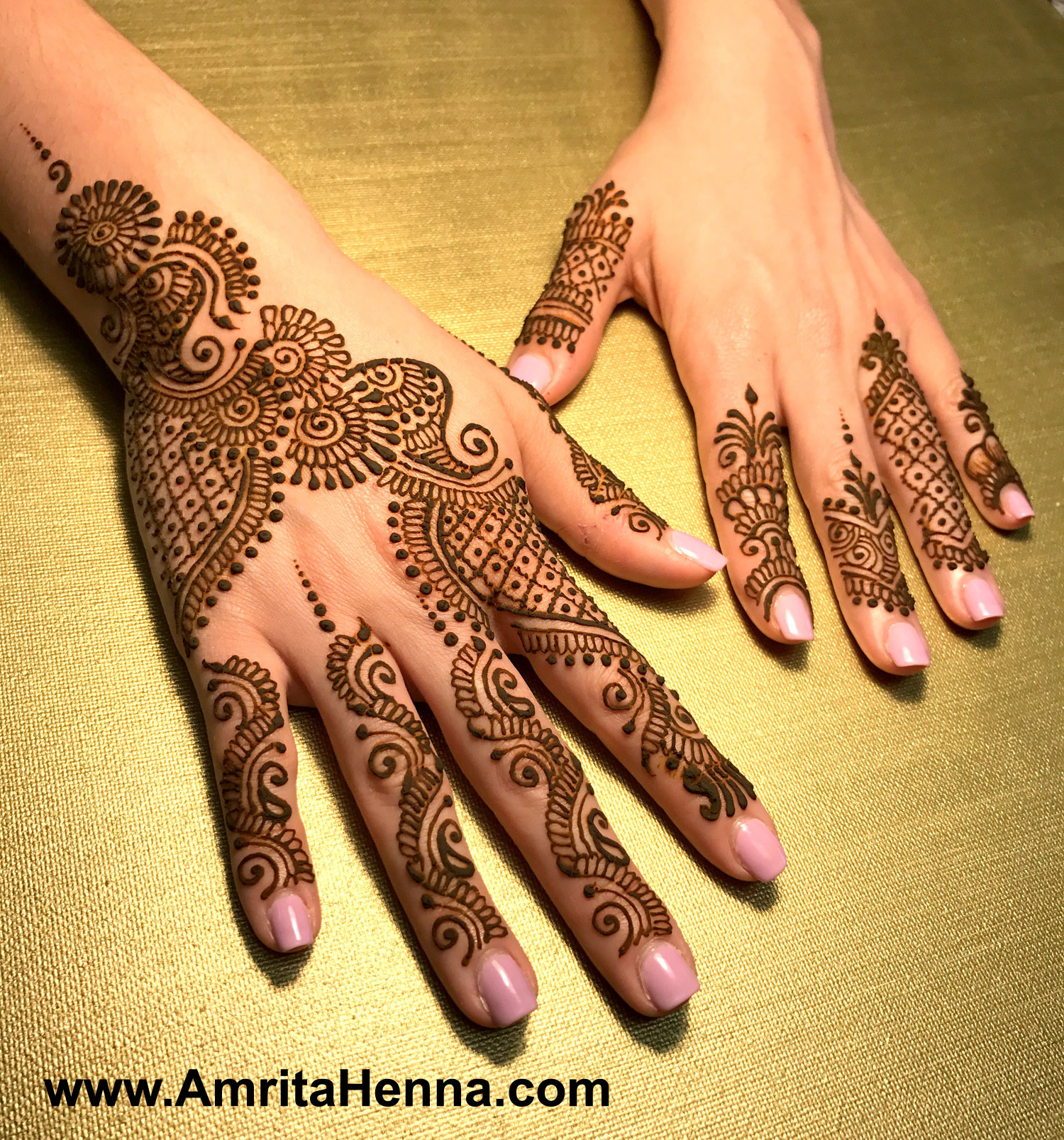 Amazing Mehndi Party Ideas : Top latest unique henna designs for diwali