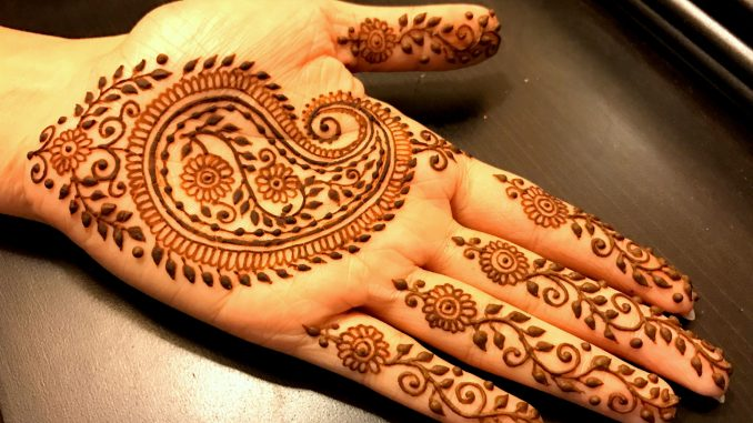Mehndi Hands Designs : 5 traditional paisley henna mehndi designs you cant miss
