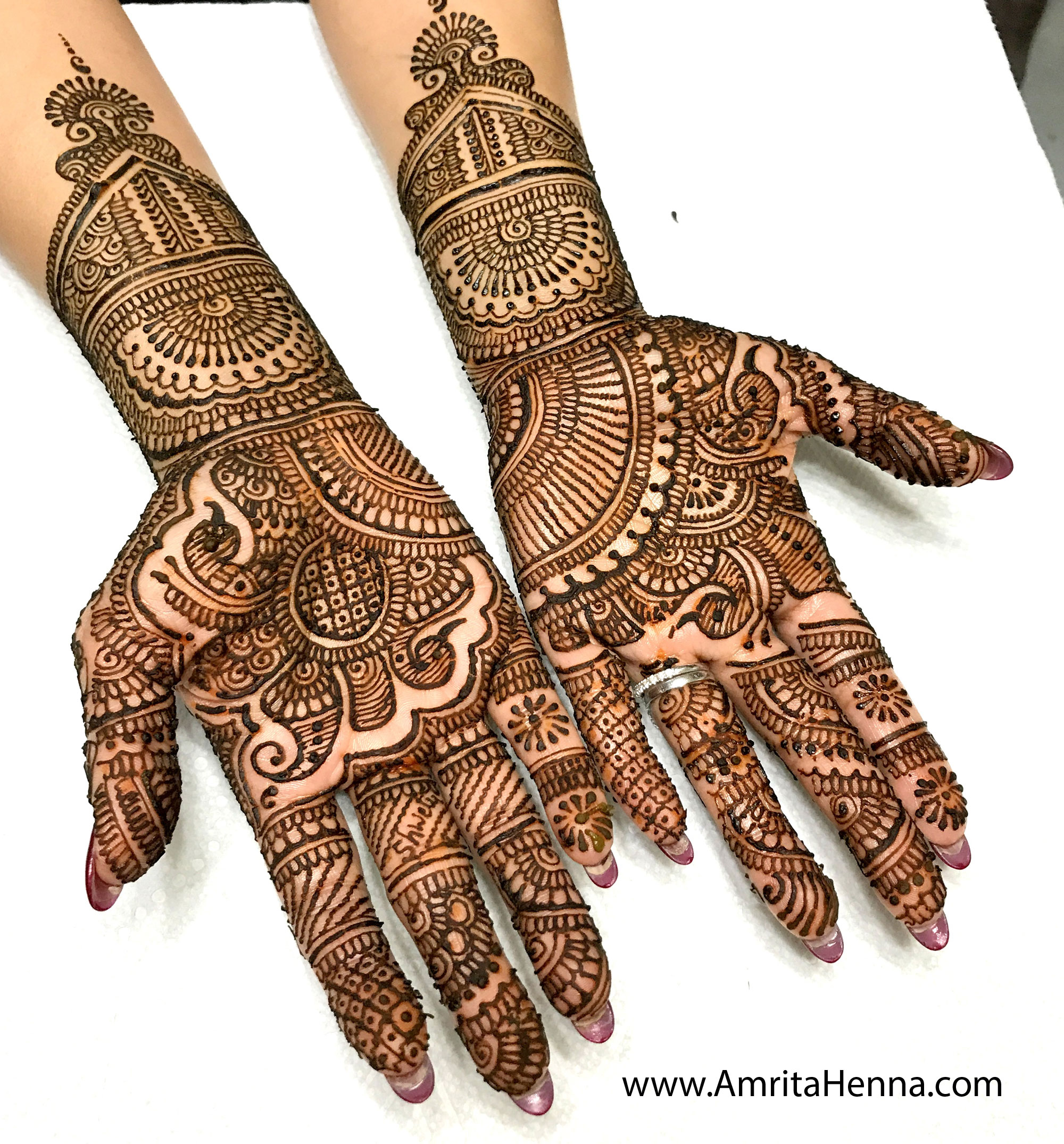 Mehndi Traditional Designs : Top intricate traditional indian bridal henna mehndi designs tattoo art by amrita