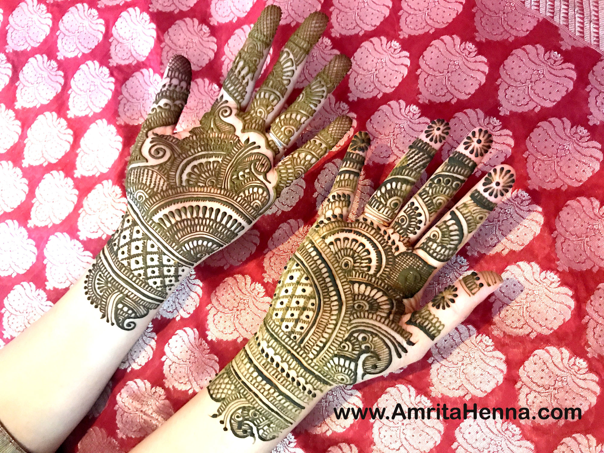 Mehndi Bridal Mehndi Design : Top intricate traditional indian bridal henna mehndi designs