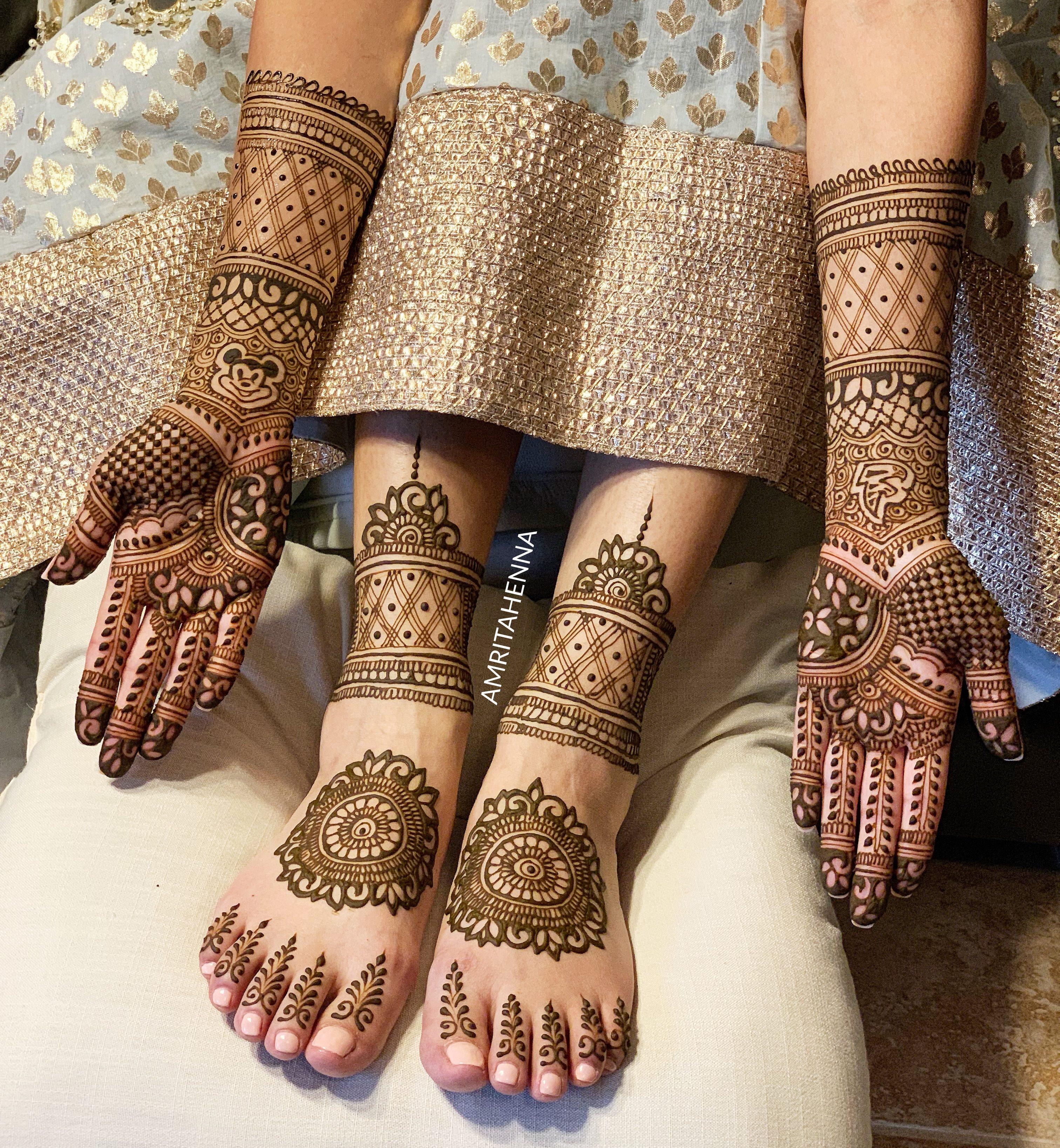 mehendi design for bride
