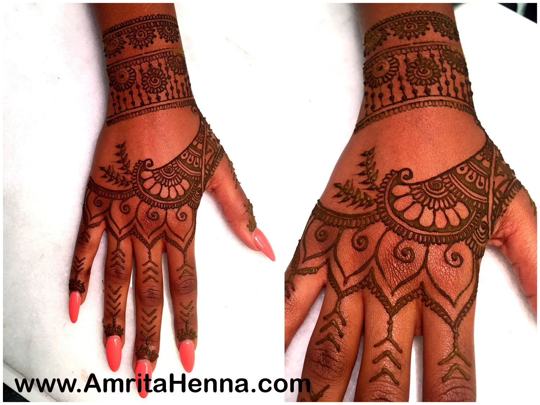 Best Rihanna Tattoo Henna Design - Most Popular Mehndi Design inspired by Rihanna Tattoo - Henna Design version of Rihannas Real Hand Tattoo - Mehendi Design on Hand like Rihanna Tattoo - Best Indian Henna Mehndi Inspired Celebrity Real Tattoos