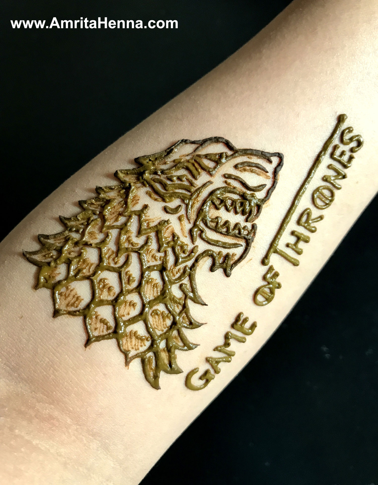 BEST GAME OF THRONES HENNA TATTOO DESIGN - GAME OF THRONES TATTOO IDEAS - GAME OF THRONES HOUSE STARK SIGIL HENNA DESIGN - GAME OF THRONES MEHENDI DESIGNS - MEHNDI DESIGN IDEAS FOR GAME OF THRONES FANS - MOST POPULAR GAME OF THRONES MEHANDI DESIGN - GAME OF THRONES HOUSE STARK OF WINTERFELL WORDS WINTER IS COMING - WINTER IS COMING HENNA TATTOO DESIGN - GAME OF THRONES WOLF HENNA DESIGN - GAME OF THRONES WOLF TATTOO DESIGN IDEA - GOT TATTOO DESIGNS - GOT HENNA DESIGNS - BEST GAME OF THRONES MEHNDI DESIGN FOR THIS SEASON - GAME OF THRONES LATEST SEASON HENNA TATTOO DESIGN
